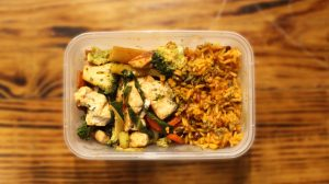 Chicken-Stir-Fry-and-Rice